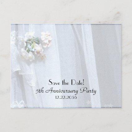 Save the Date 5th Wedding Anniversary Announcements