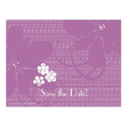 Purple birthday party save the date cards save the date cards 60th birthday celebration cards bookmarktalkfo Gallery