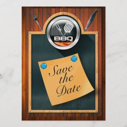 Save the Date BBQ