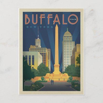 Save the Date - Buffalo, NY Announcement