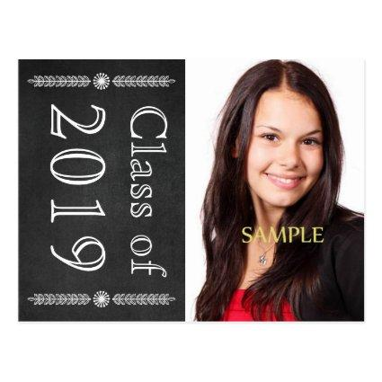 Save the Date Chalkboard Graduation Announcements Cards
