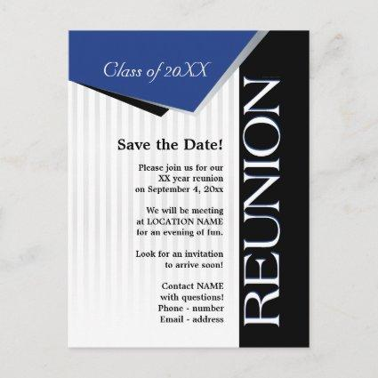 Save the Date Class reunion Announcements Cards