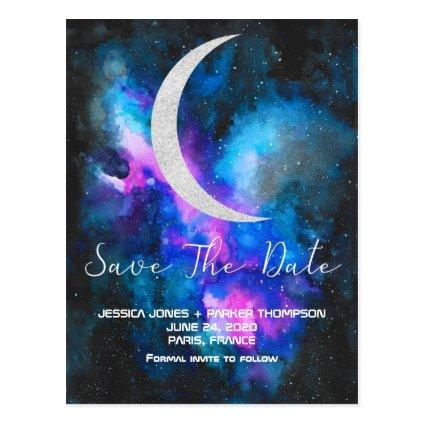 Save the Date | Cresent Moon Watercolors