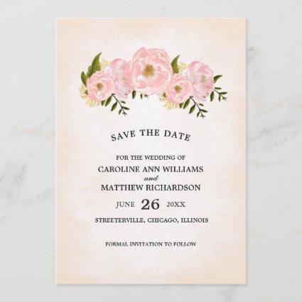 Save the Date. Custom Wedding Announcements