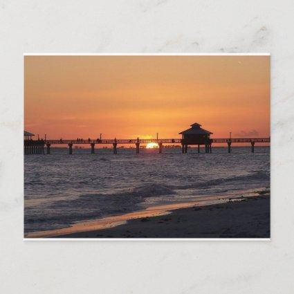 Save the Date\Customizable Sunset Beach Announcement
