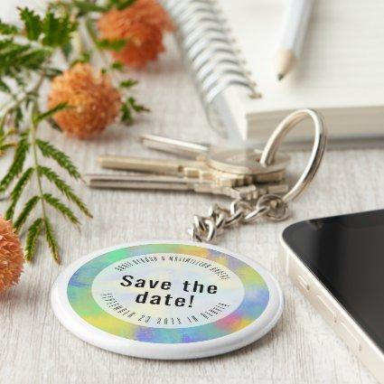 Save the Date DIFFERENT Keychain