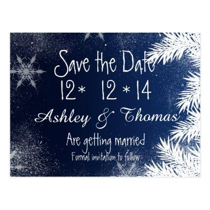 geometric winter wedding save the date cards save the date cards
