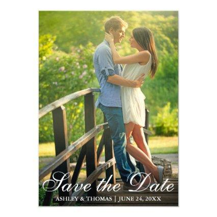 Save the Date | Engagement Announcement Photo Card