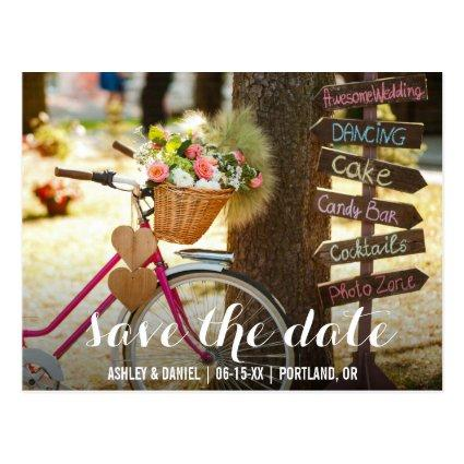 Save The Date Engagement Fun Announcements Cards