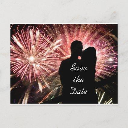 Save the Date Engagement Wedding Announcement