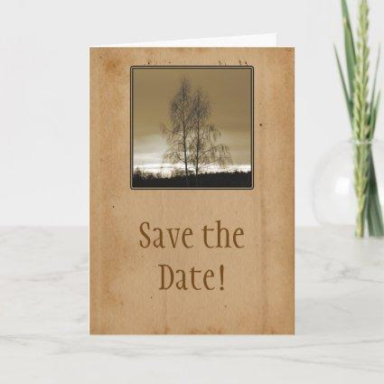 Save the Date Family Reunion Invitation