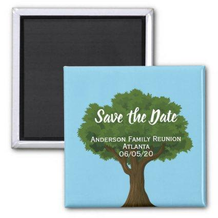 Save the Date Family Reunion Magnet