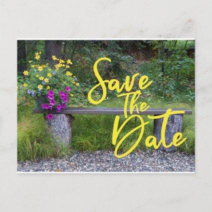 Save The Date Family Reunion Rustic Rural Floral Announcement