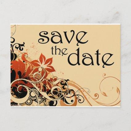 save the date : flower breeze : announcement