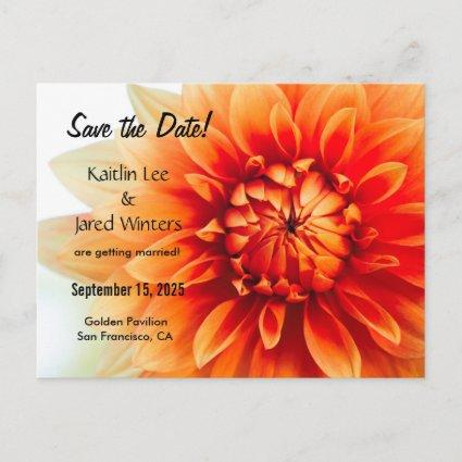 Save the Date Flower  - New version