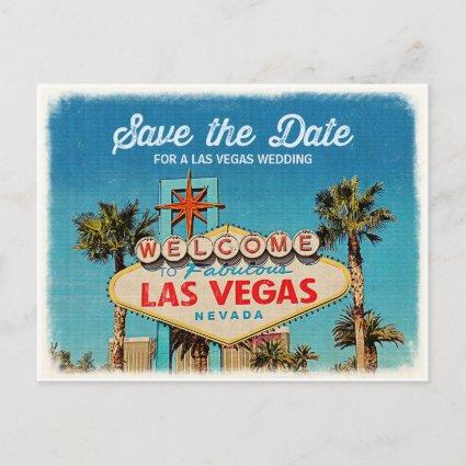 Save the Date for a Fabulous Las Vegas Wedding Announcements Cards