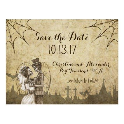 Halloween Save The Date Cards Save the Date Cards – Halloween Wedding Save the Dates