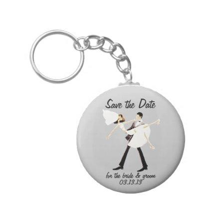 for the bride & groom Keychain
