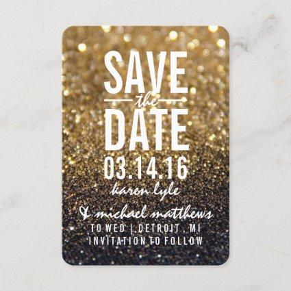 Save the Date   Gold Lit Nite Fab