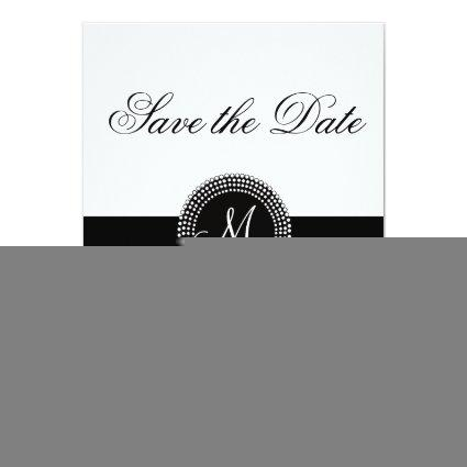 Harlequin Pattern and Monogram Cards