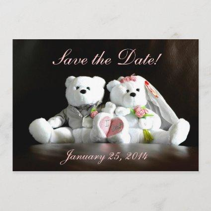 Save the Date - I Do Bears