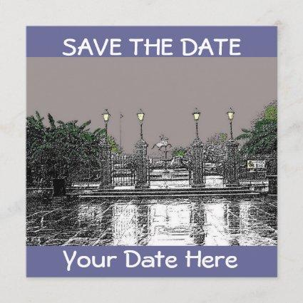 SAVE THE DATE-Jackson Square New Orleans Save The Date