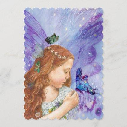 Save the Date Magical Stardust Fairy