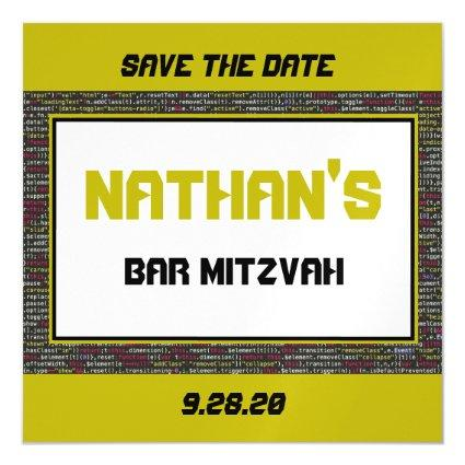 Save the Date Magnet for Coder's Party II