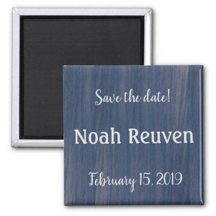 Save the Date Magnet for Simple Ocean Collection