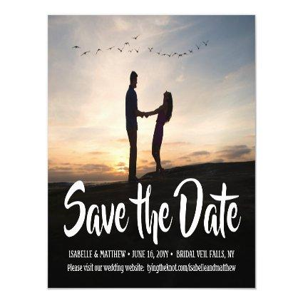 Save the Date Magnets One Photo 1 Picture Wedding