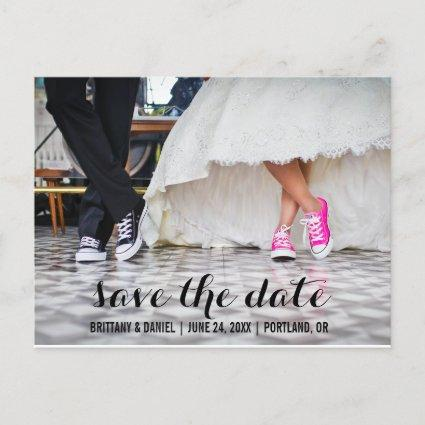 Save The Date Modern Engagement  S