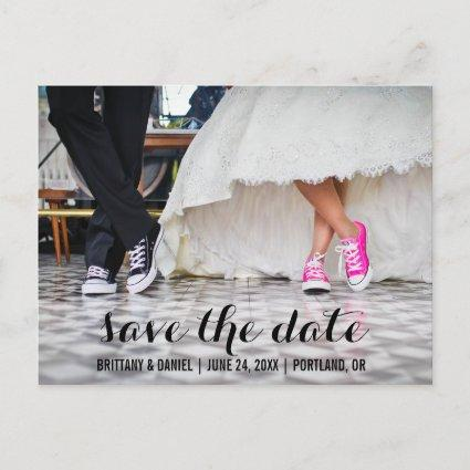 Save The Date Modern Engagement  SCB