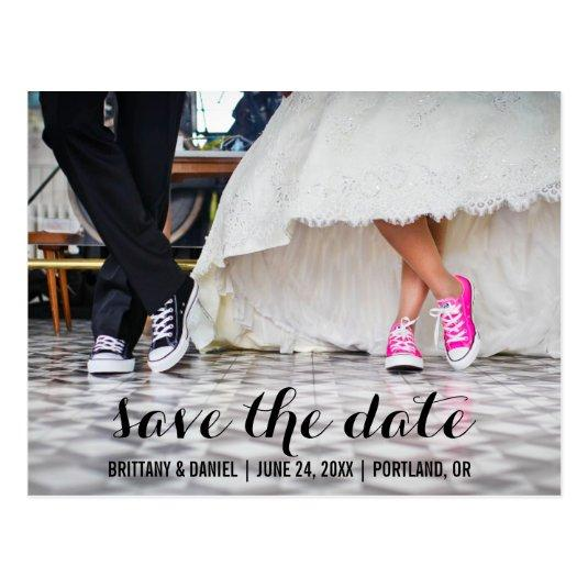 Save The Date Modern Engagement Cards SCB