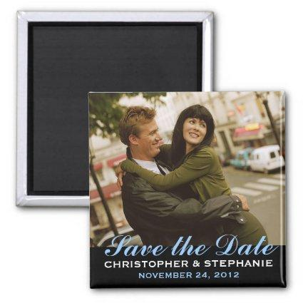 Save the Date Modern Style Magnets