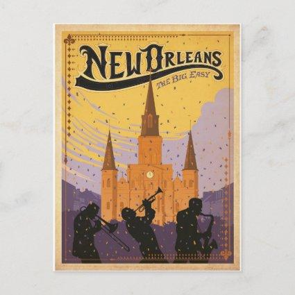 Save the Date | New Orleans, LA Announcements Cards