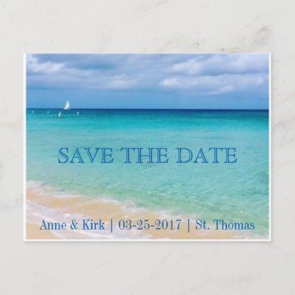 Save the Date | Ocean | Cards Announcements Card