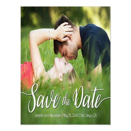 Save the Date Outdoor Magnetsic Invitation