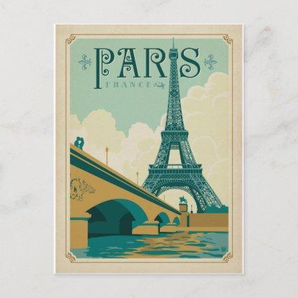 Save the Date | Paris France - Eiffel Tower Announcement