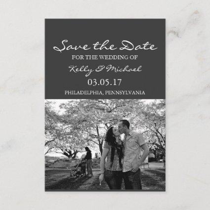 Save the Date - Photo