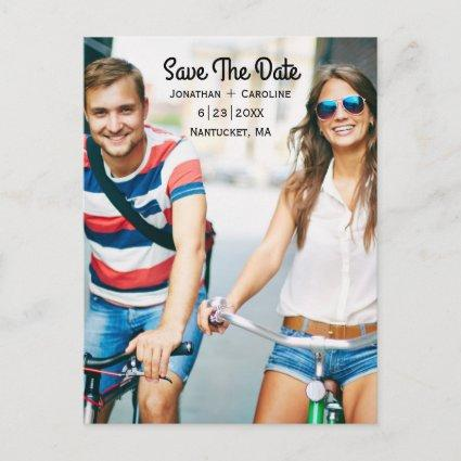 Save the Date Photo Cards | Trendy, Modern, Casual