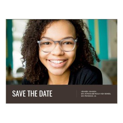 Save The Date | Photo Graduation Announcement
