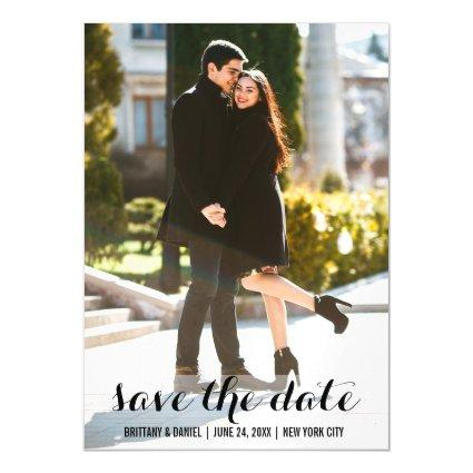 Save The Date Magnetsic Invitation 5x7 L
