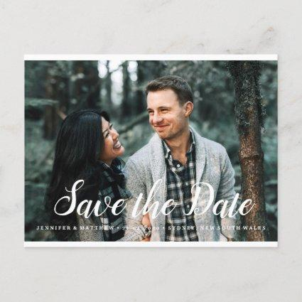 Save the Date Photocard Invitation