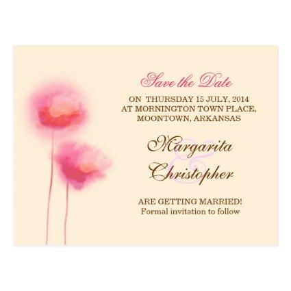 pink flowers Cards