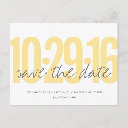 Save The Date Cards, Large Date Announcements Cards