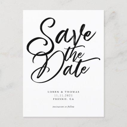 Save The Date Script Announcement