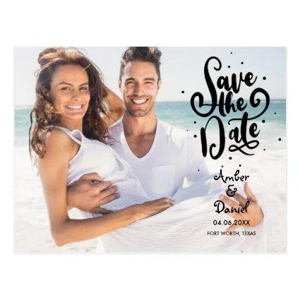 Save the Date Script Spots Photo