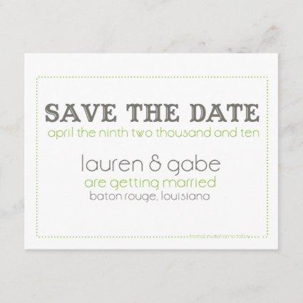 Save the Date (Today's Best Winner)