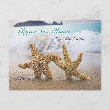Save the Date Two Starfish