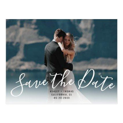 Save the date typography | Upload your photo
